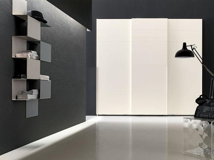 Armadi scorrevoli armadio anta scorrevole armadi milano for Armadi design moderno